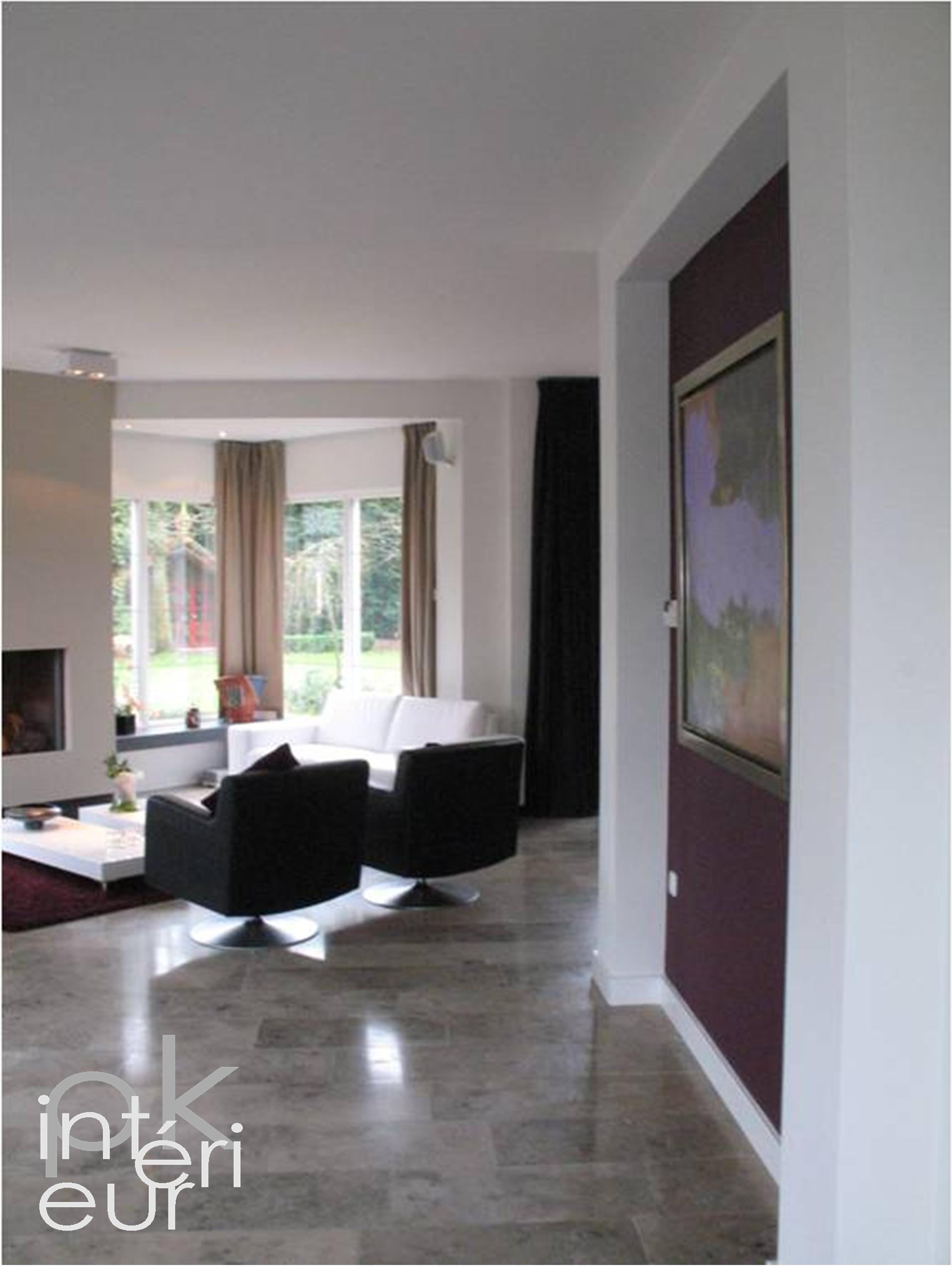 Am nagement et conseil d int rieur de rez de chauss e de maison pk interieur lyon - Inspiratie salon moderne ...