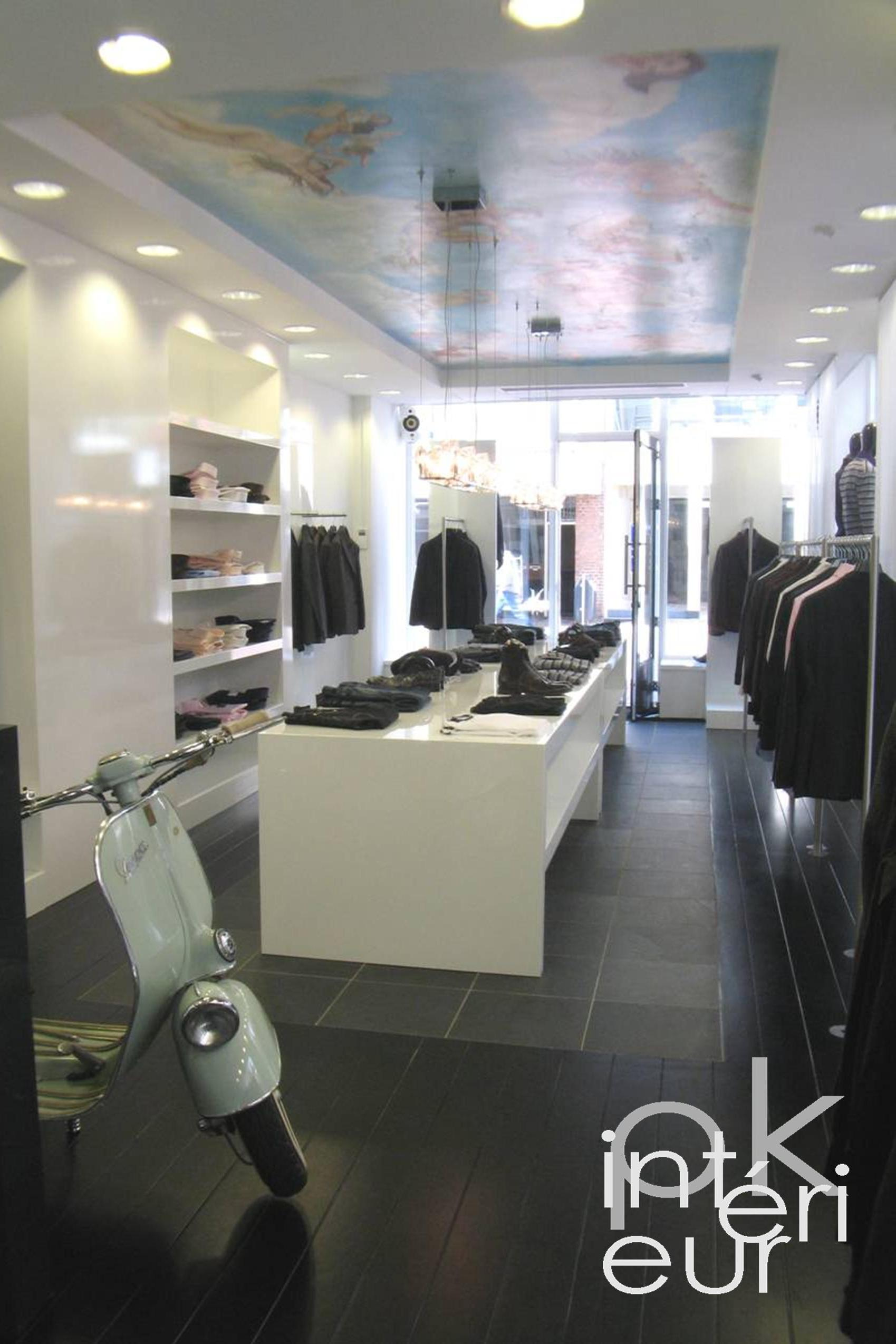 R alisations architecte d int rieur design et for Design d interieur boutique