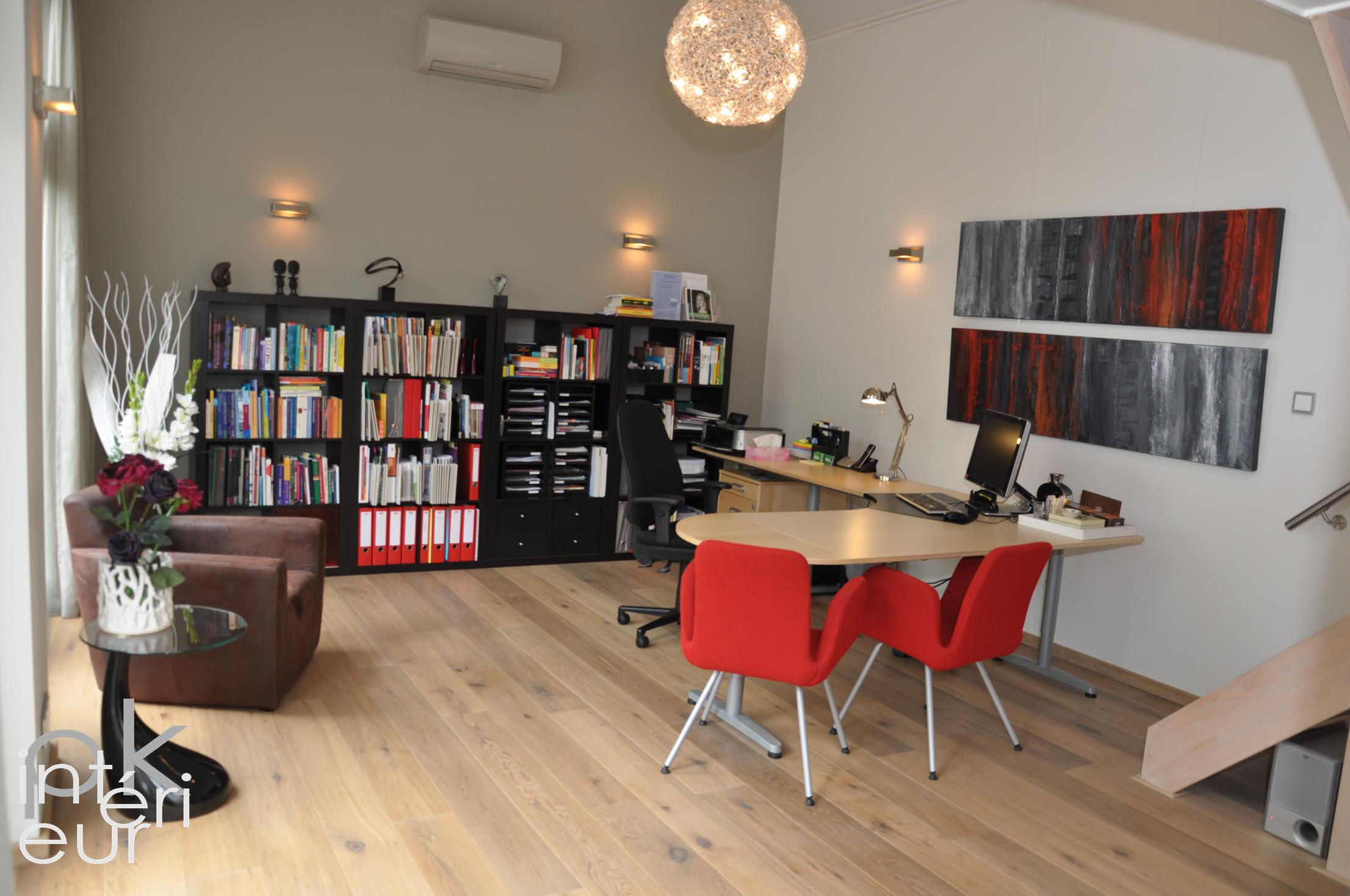 Interieurarchitectuur kantoorruimte eenmanszaak compleet ontwerp voor de herstructurering van - Decorar despacho profesional ...