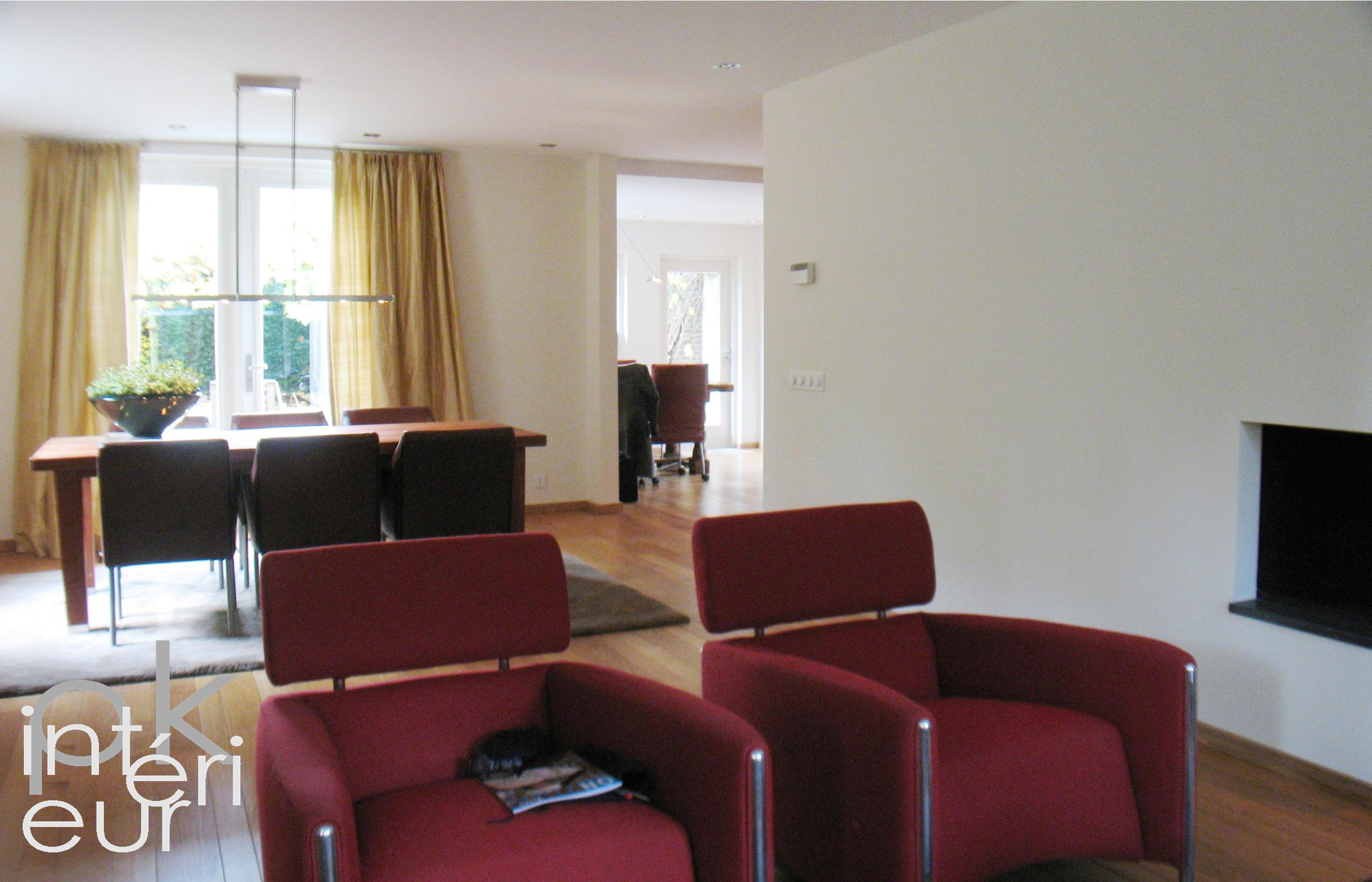 Pk interieur woonkamer en keuken inrichten in utrecht eindhoven arnhem breda den bosch - Eetkamer en woonkamer ...